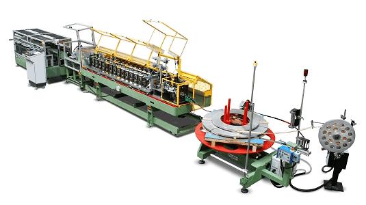 Dérouleur motorisé  Contrôle de boucle Profileuse U12 Coupe à la volée Table de réception Vitesse effective de ligne de 80 m/min