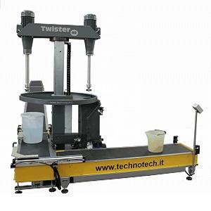 Miscelatori automatici per capacità da 0.5 a 120 Litri utilizzabili per miscelare e omogeneizzare prodotti fluidi o in pasta ad alta visocosità.