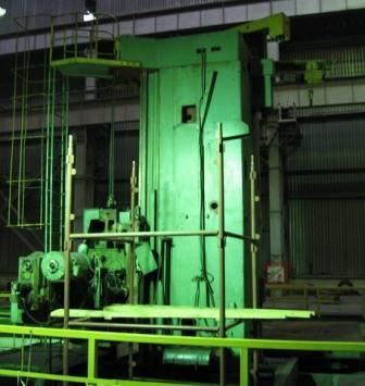 Machine tool 2G660F2 before upgrading