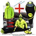 Nouveau concept de sac de couchage modulaire révolutionnaire SAKHÉO composé d'une veste et d'un sac de couchage permettant un gain thermique et une super ergonomie.