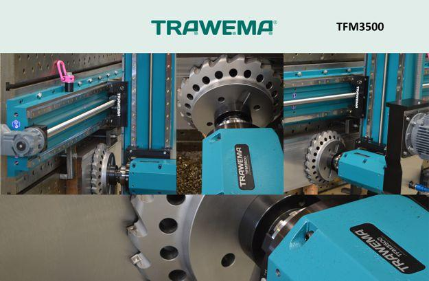 Our all new Portable 3-Axis Milling Machine model TFM3500.