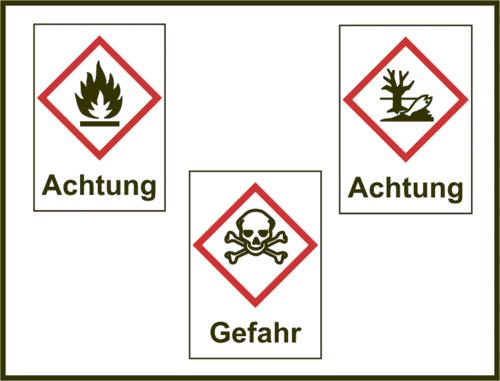 Gefahrstoffsymbole/Signal