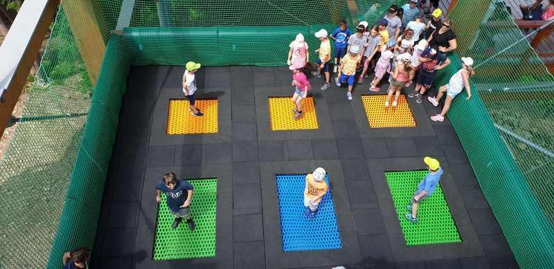 trampoline set 2