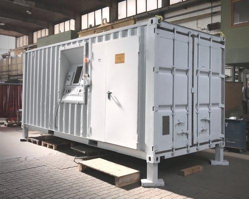 Containerstrahlanlagen