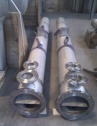 Druckbereiche und Grösse  - Drücke: Vakuumbetrieb bis 500 bar und höher - Temperaturen: bis 1000 °C - Durchmesser: bis 3 m - Längen: bis 20 m - Gewichte: wenige Kilogramm bis 70 Tonnen und mehr