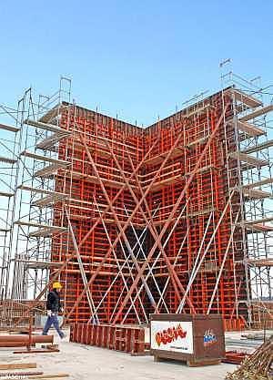 Système de grande surface pour immeubles commerciaux et résidentiels, construction industrielle, génie civil, construction de bassins.