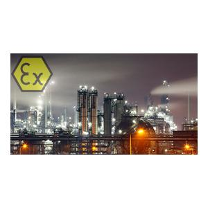 ATEX APPROVED FOR FLAMMABLE ENVIRONMENTS