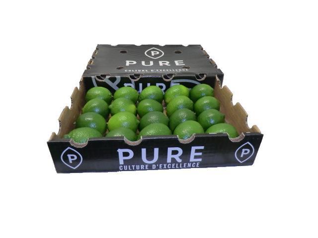 Ams European est spécialiste de citrons verts haut de gamme à Rungis. Fruits exotiques de qualité à Rungis, vente en gros de mangues de qualité à RUNGIS. Spécialiste fruits de luxe.Marque PURE .