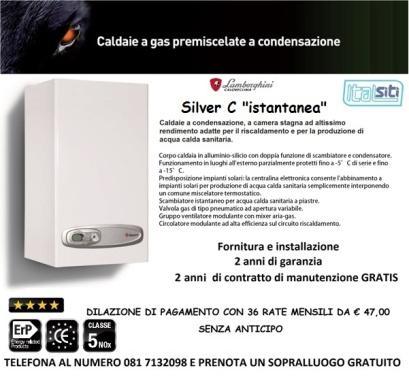 Finanziamento tutto incluso: € 47,00 x 36 mesi altre info su: http://www.italsiti.eu/installazione-caldaie.html