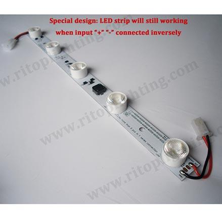 LED light source for advertising signage and light box