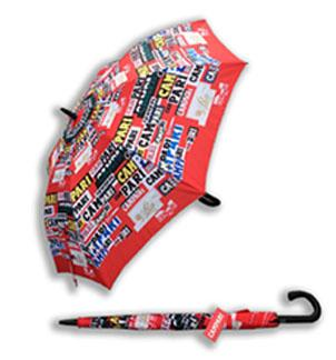 Campari Golf Umbrella with OEM design CMYK