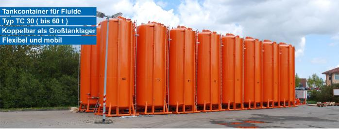 mobile Tankcontainer