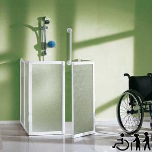 Shower cabin for disabled 100cm