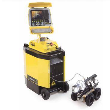 La P350 est conçue pour être utilisée dans presque toutes les conditions; tracteurs et caméras peuvent être totalement immergés jusqu'à une profondeur de 100m.