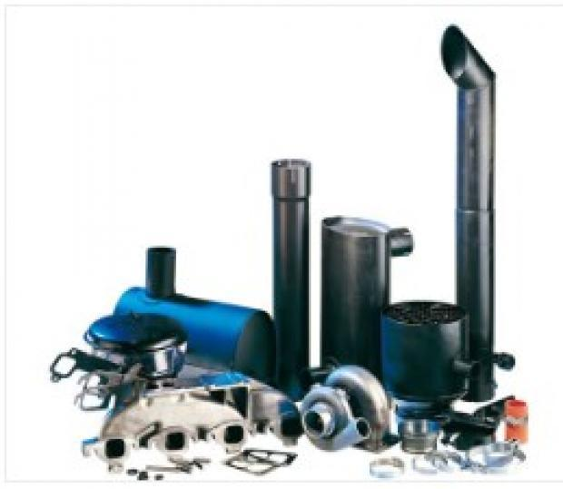 intake and exhaust for construction machinery and agricultural machinery