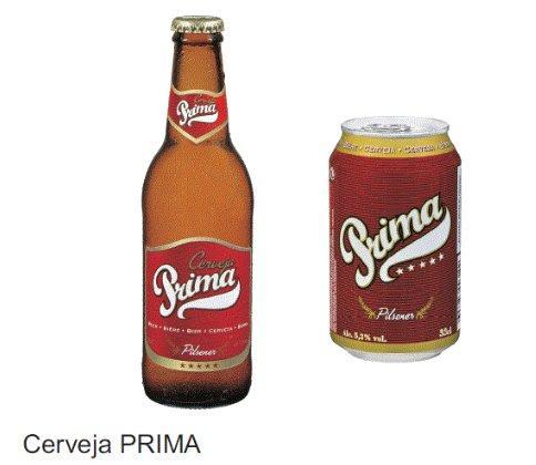 Portuguese Beer brand PRIMA