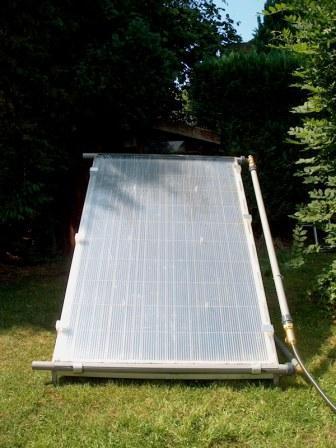 Panneaux solaires sanitaire et voltaique