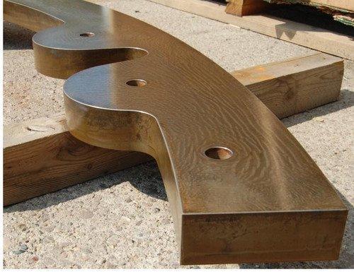 Stahl Präzisionsschnitt