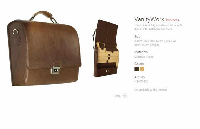 vanity work business