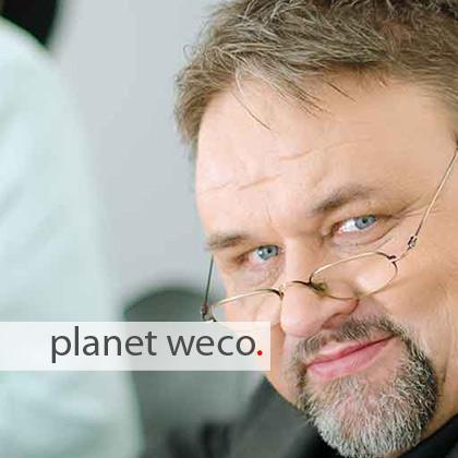 Ralf Glasmeyer ist Chef der Gestaltung der Werbeagentur.