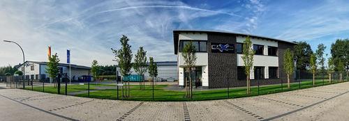 Firmengelände HP-Textiles GmbH