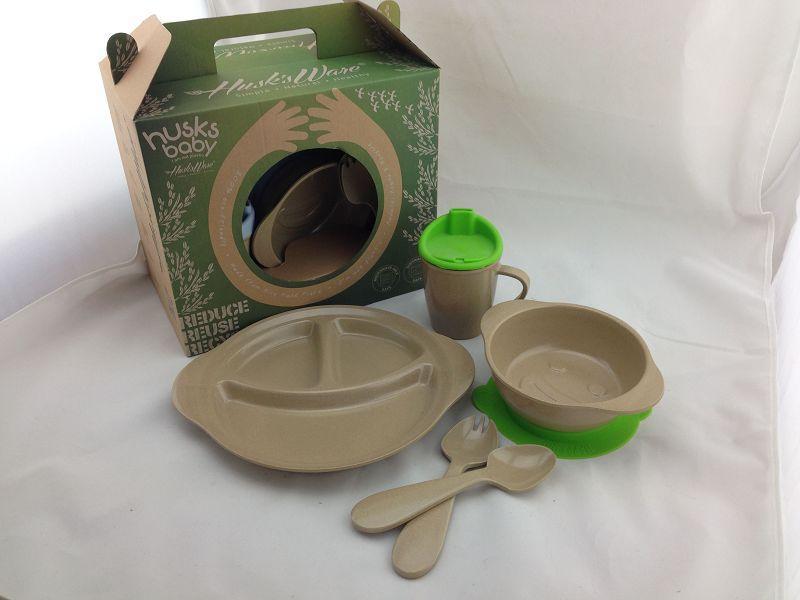 100% biodegradable Kid's dinnerware set