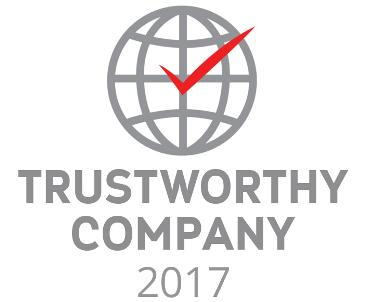 """ILS POLAND GROUP in the year 2017 was awarded by the Center for Opinion Research Client certificate """"Trustworthy Company""""."""