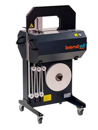 The Stand-alone Bandall banding machine as a part of a huge range of fully automatic banding, banderoling and bundling systems