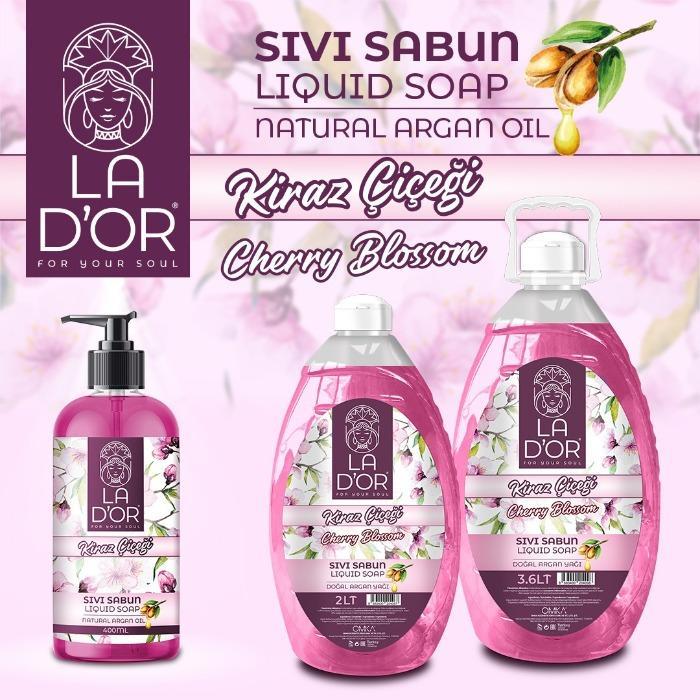 LA D'OR liquid soap - cherry blossom