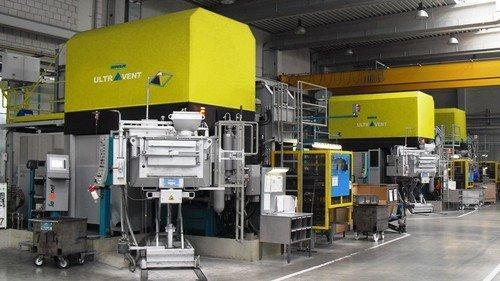 KMA Applikation Druckgießmaschinen
