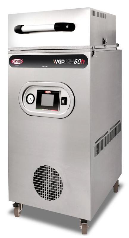 """VPG 60n SKIN, l'unica macchina che permette di: Confezionare con effetto """"SKIN"""", Gas, ATM e sigillare vaschette. Freschezza, qualità e un migliore aspetto estetico per ogni tuo prodotto!"""