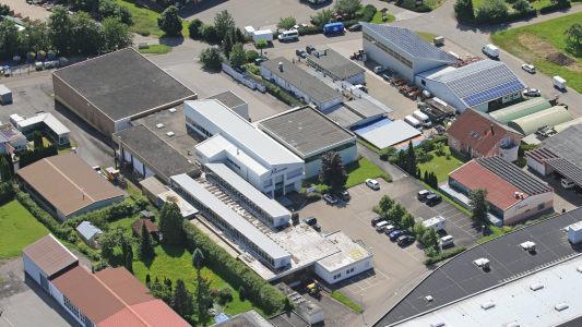 Plastoform GmbH - Firmengelände von oben