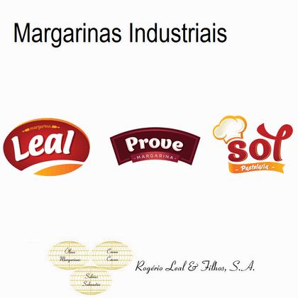 Industrial margarines