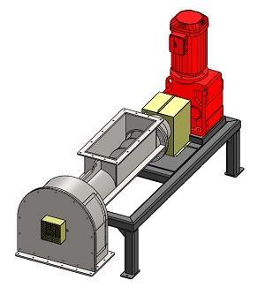 Mit der Scheibenmühle HSM-300 können unter anderem Mineralwolle, Steinwolle, Glaswolle, Glasfasern und Glas gemahlen werden. Durchsatzleistung von über 500kg/h.
