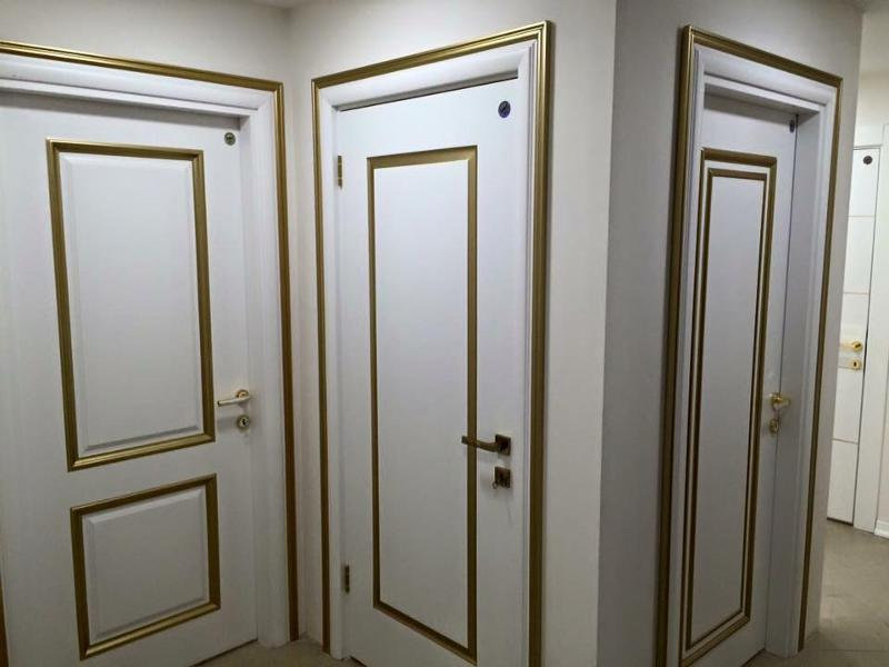6mm MDF,kraft infilling and lacquer painted.with Gold foil.