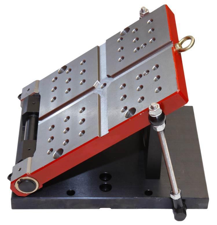 Versatili attrezzature per le lavorazioni meccaniche; base barra seno inclinabile.