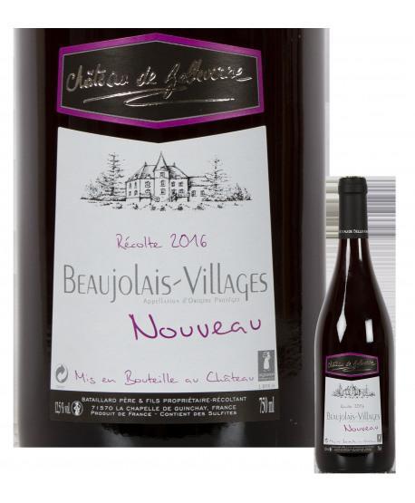Beaujolais village nouveau 2016 chateau de Belleverne
