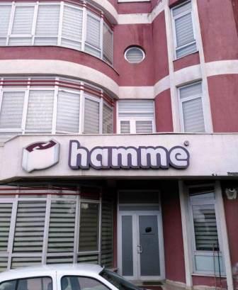 Hamme Machinery's gate