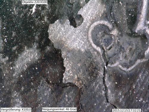 3D-Mikroskopie Graphit
