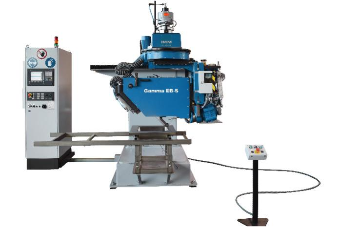 Welded seam belt grinding machine type GAMMA