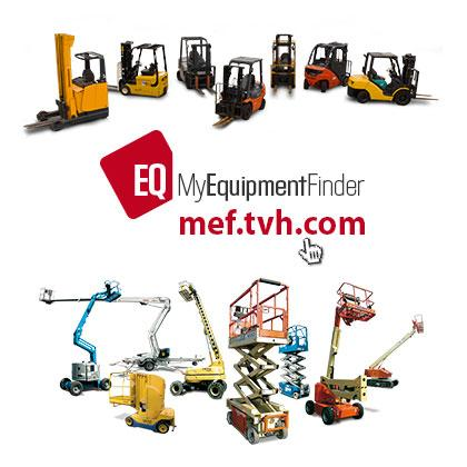 Always 1600 second-hand forklifts and aerial platforms in stock
