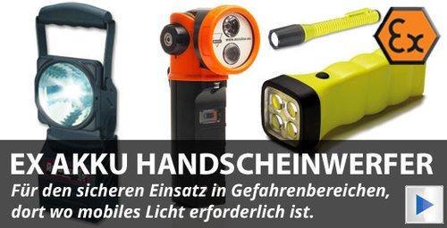 ATEX LED Handscheinwerfer