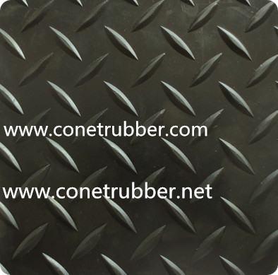 diamond rubber mat_Conet in China