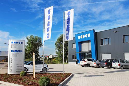 Firmengebäude BEDEK in Dinkelsbühl