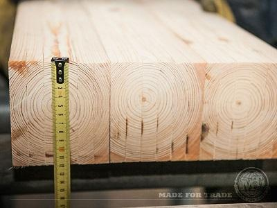 Monitoring the size of cut boards
