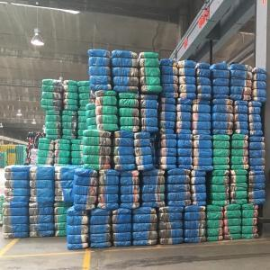 Packaging textile sorting, Shoebags, Capsacks, Bale Covers