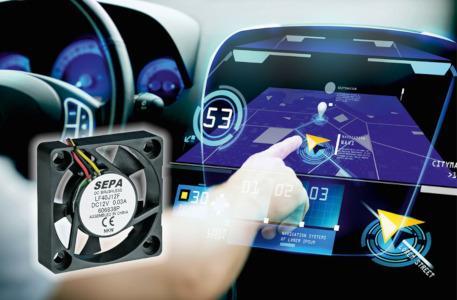Lüfter für die Automobilindustrie