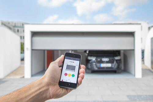 Garagensteuerung mit ZAPF Connect