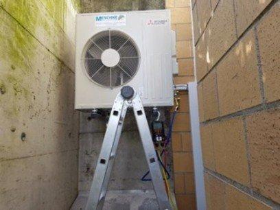 Neuinstallation in der Klimatechnik