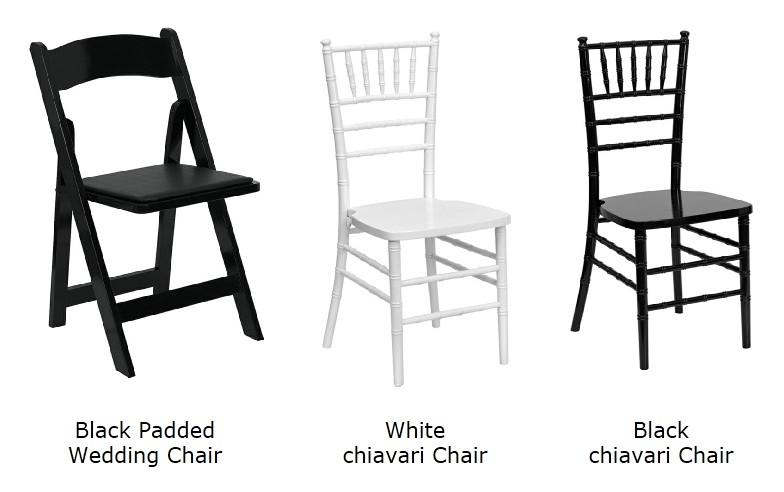 Event chairs